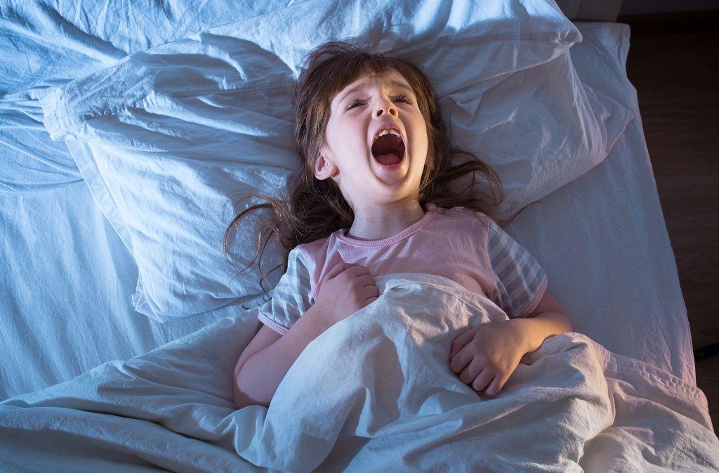 Nachtschreck bei Kindern - Symptome, Ursachen, Vorbeugen Foto: EKramar / Shutterstock