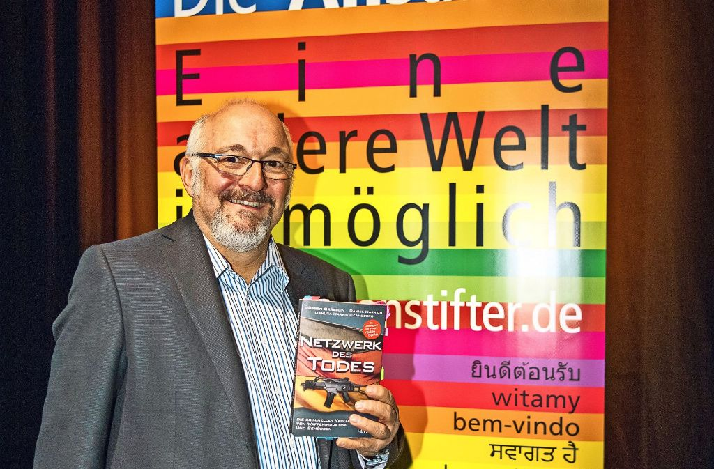 Aktivist gegen die Waffenindustrie:  Jürgen Grässlin Foto: Martin Stollberg