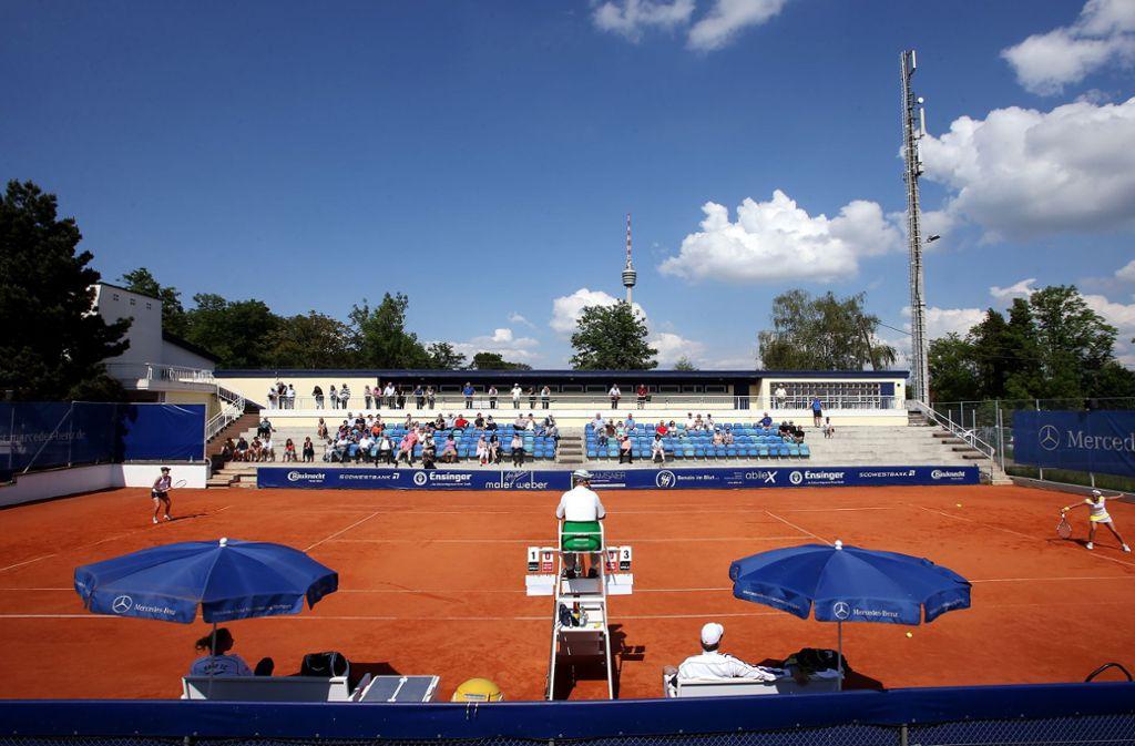 Kein Bundesliga-Tennis beim TEC Waldau in diesem Jahr. Foto: Baumann