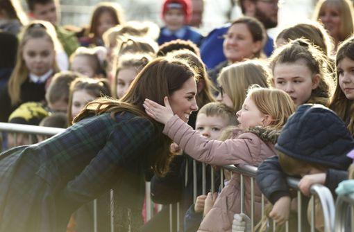 Herzogin Kates Reaktion ist einfach zauberhaft