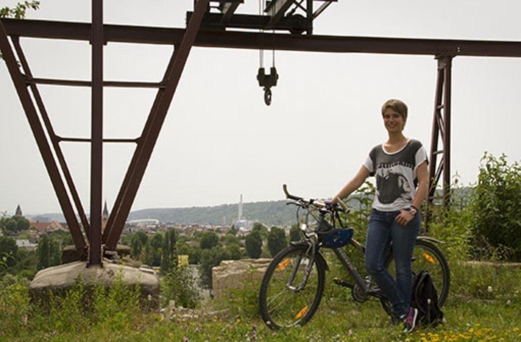 Das Fahrrad als Fortbewegungsmittel in Stuttgart: Studentin Fiona Herdrich hat den Selbstversuch gemacht und zieht ein positives Fazit. Foto: Cathrine Dersch