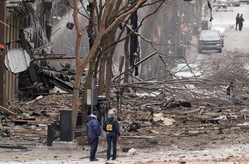 Verletzte nach heftiger Detonation in der Innenstadt