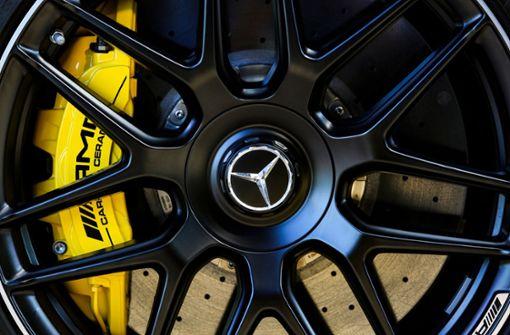 Teure Räder auf AMG- und Mercedes-Felgen gestohlen