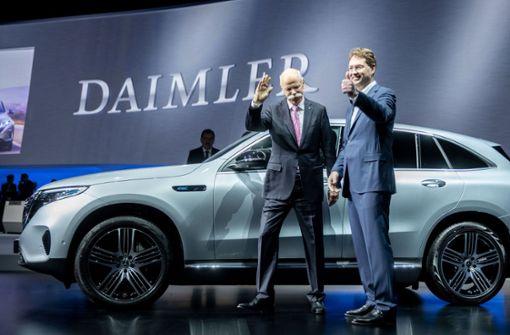 Vorschusslorbeeren für den neuen Daimler-Chef
