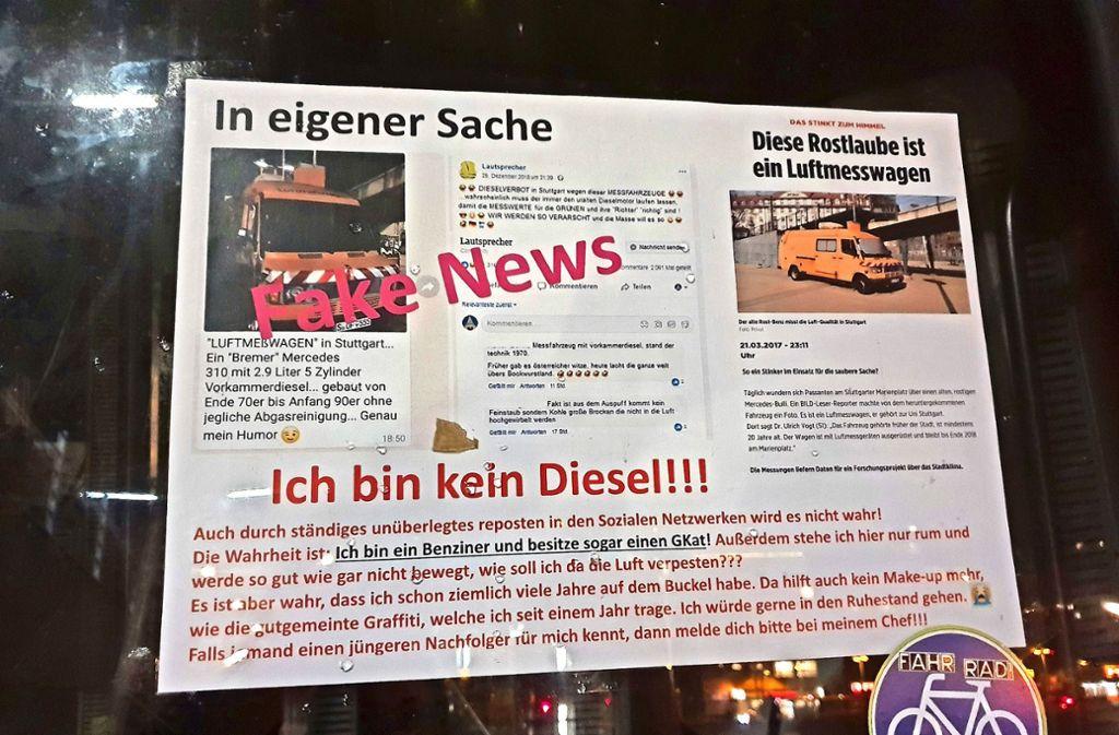 Deutliche Worte: Der Wirbel um den vermeintlichem Uraltdiesel  auf dem Marienplatz entbehrt jeglicher Grundlage. Foto: Hellmann