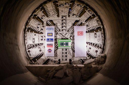 """S21-Tunnelbohrmaschine """"Suse"""" wird zerlegt"""