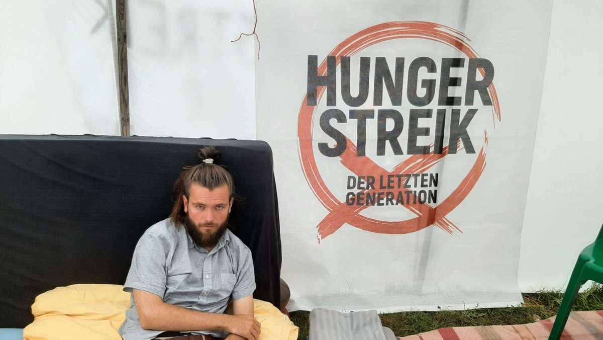 Warum ein junger Stuttgarter seit Wochen nichts mehr isst