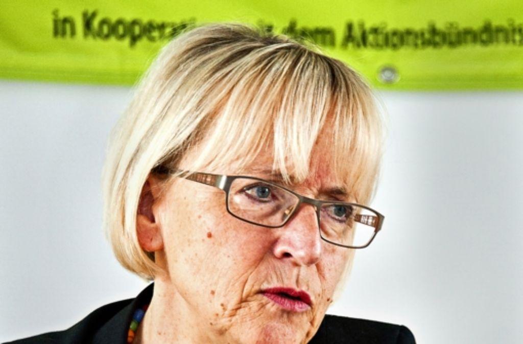 BUND-Landeschefin Brigitte Dahlbender fordert die grün-rote Landesregierung auf, mehr Bürgerbeteiligung notfalls ohne die CDU auf den Weg zu bringen. Foto: dpa