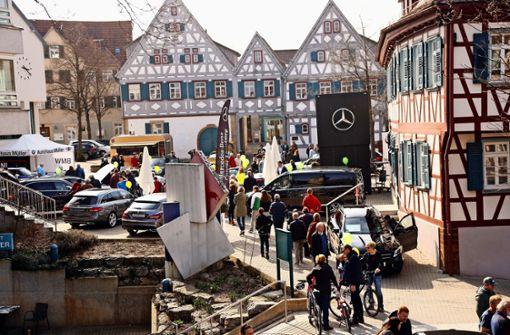 Die Ditzinger Innenstadt wird zur Flaniermeile
