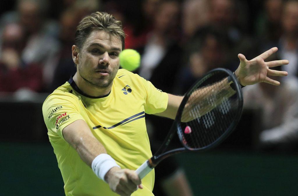 Stan Wawrinka hat bereits drei Grand-Slam-Turniere gewonnen. Foto: AP