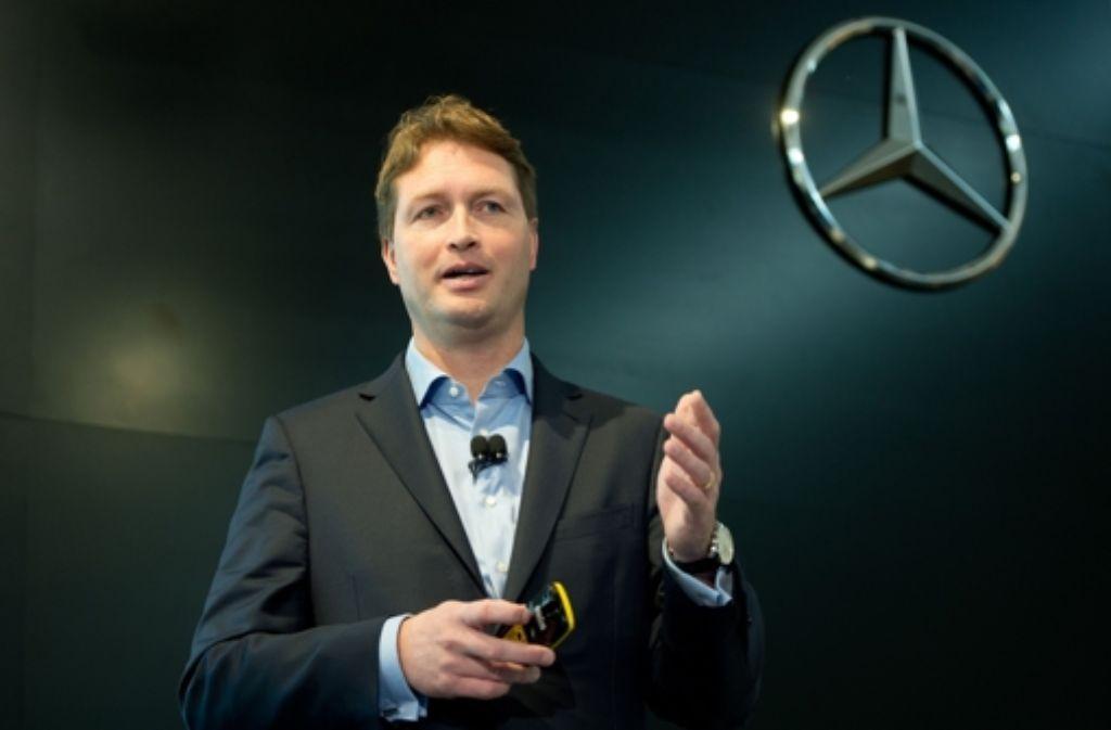 Ola Källenius ist der jüngste im Daimler-Vorstand und hat beste Chancen, Nachfolger von Dieter Zetsche zu werden. Foto: dpa