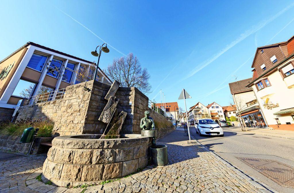 Im Rathaus Steinenbronn  häufen sich die Kündigungen. Foto: Thomas Krämer