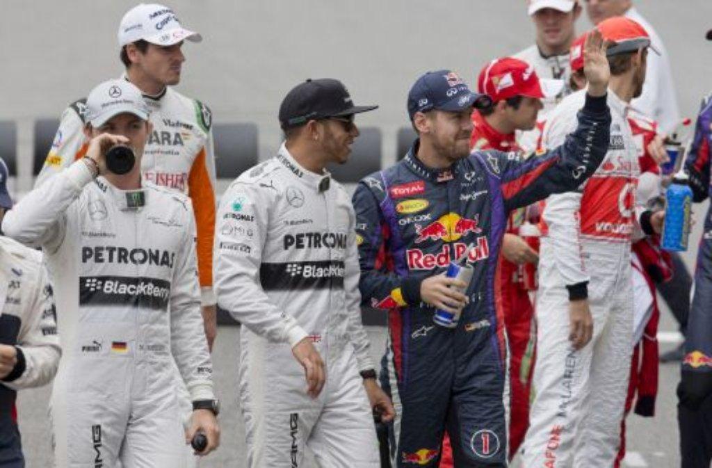 Sebastian Vettel hat Großen Preis von Brasilien seinen 13. Sieg in diesem Jahr gefeiert. Foto: dpa