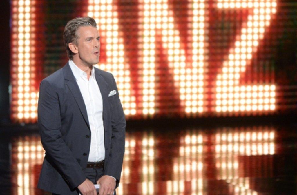 """Keiner der früheren Moderatoren von """"Wetten, dass...?"""" wird Markus Lanz bei der letzten Sendung die Show stehlen. Foto: dpa"""