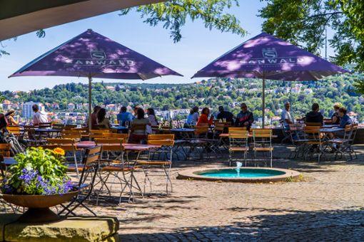 Außengastronomie in Stuttgart ohne Test