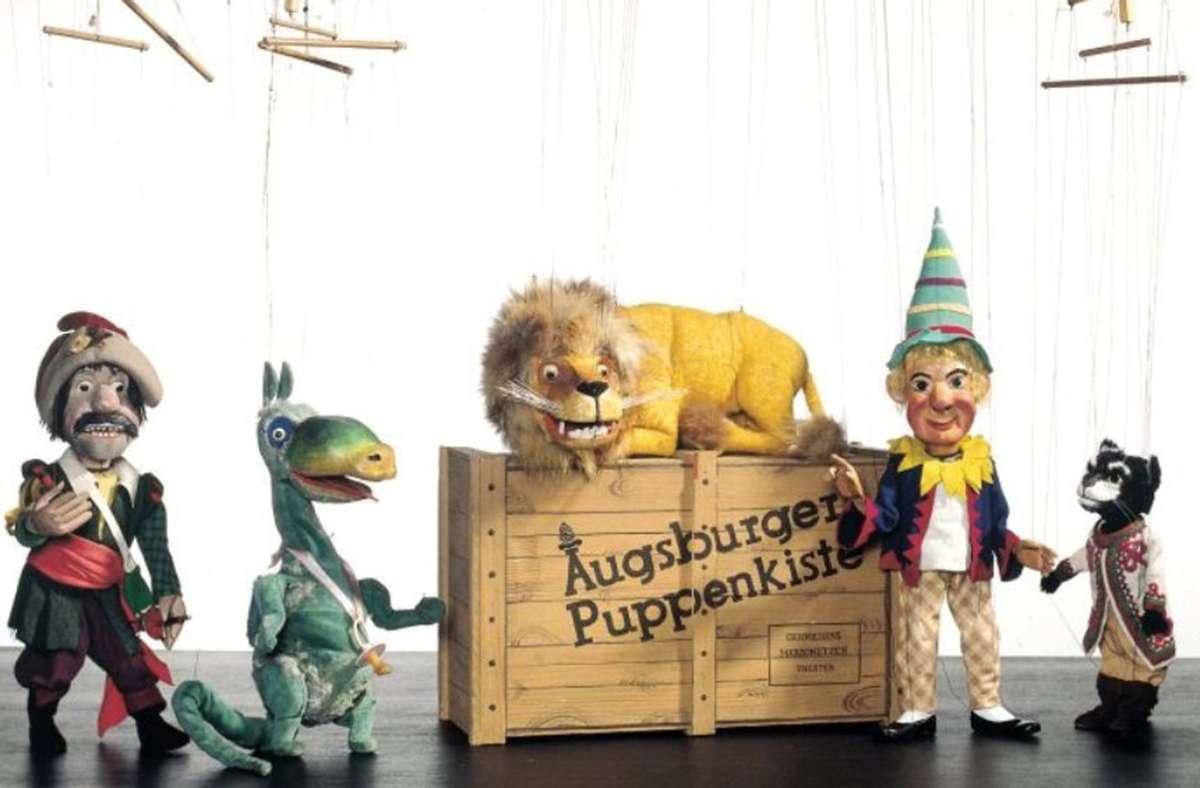 Wiedersehen mit den Helden der Kindheit: in der  Augsburger Puppenkiste steckt ein Stück deutscher Mentalitätsgeschichte. Mehr zu dem Theater und dem Autor Thomas Hettche finden Sie in unserer Bildergalerie. Foto: Augsburger Puppenkiste