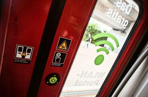 Nur an wenigen Bahnhöfen in der Region Stuttgart gibt es WLAN
