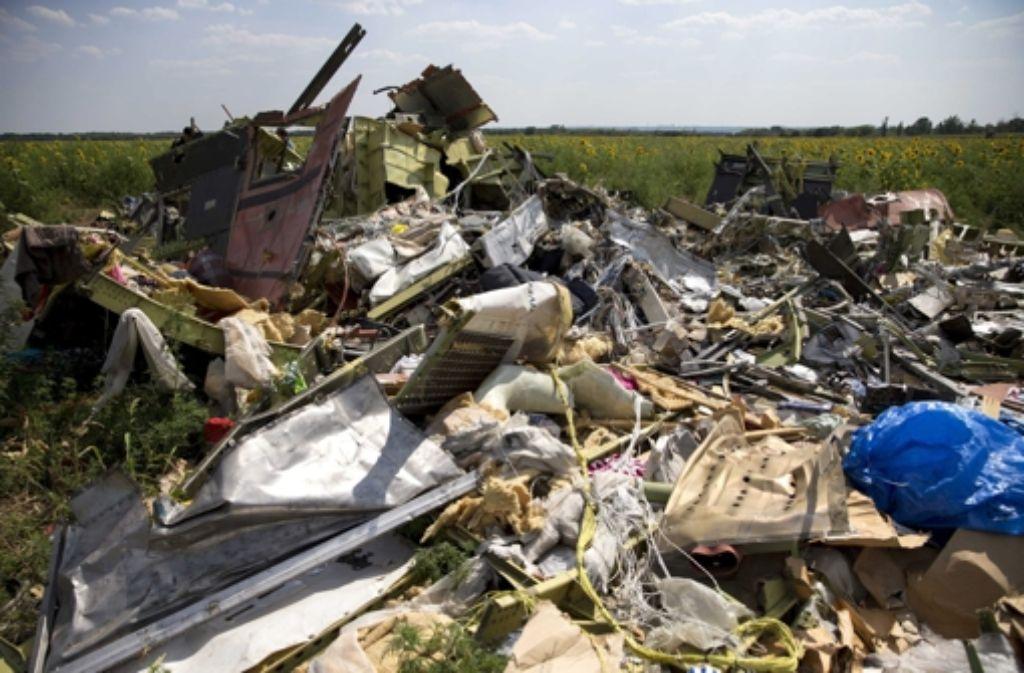 Der Absturz des Flugs MH17 wirft weiter Fragen auf. Foto: ANP
