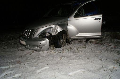 Gesundheitliche Probleme – Fahrer baut zwei Unfälle an einem Tag