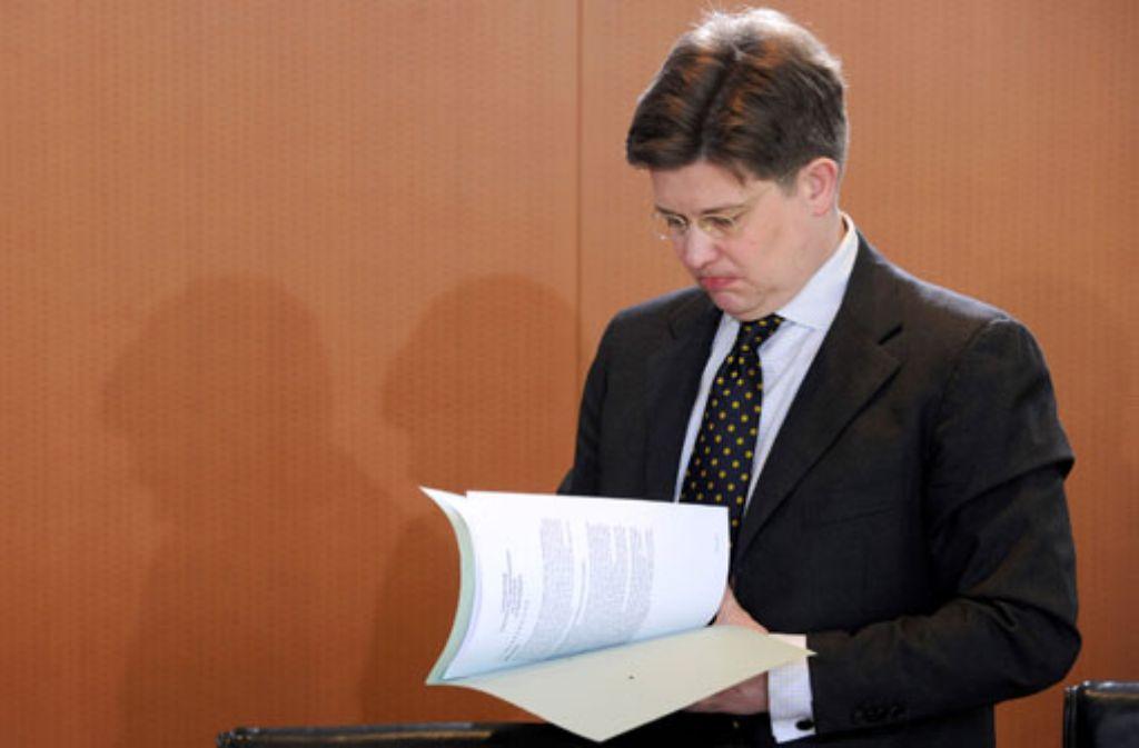 Eckart von Klaeden verlässt das CDU-Präsidium. Foto: dpa
