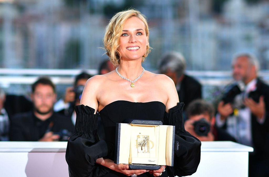 """Die deutsche Schauspielerin Diane Kruger kann sich ein Engagement als """"Tatort""""-Kommissarin vorstellen. Foto: AFP"""