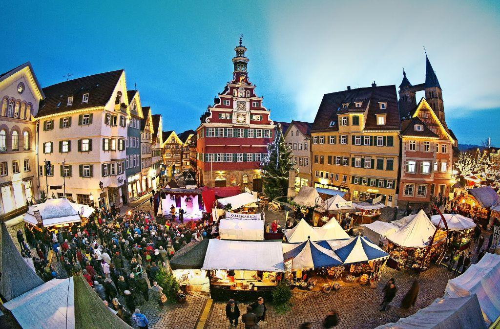 Der Markt zieht jedes Jahr bis zu eine Million Besucher an. Foto: Horst Rudel