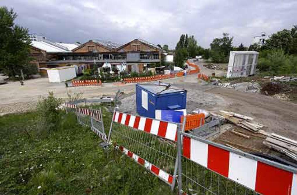 Bei den Wagenhallen wird das Logistizentrum für Stuttgart 21 entstehen. Foto: factum/Weise