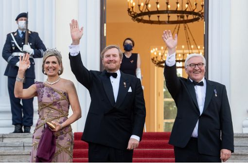 Bundespräsident empfängt niederländisches Königspaar