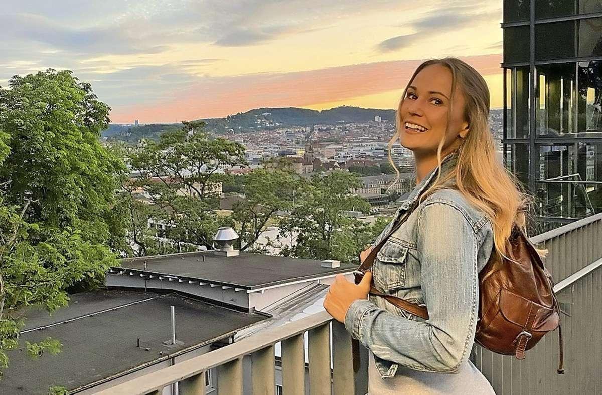 Madita Dorn präsentiert sich gern auf Instagram – aber sie will authentisch sein und zeigen, dass auch vermeintliche Makel schön sind. Foto: privat/Madita Dorn