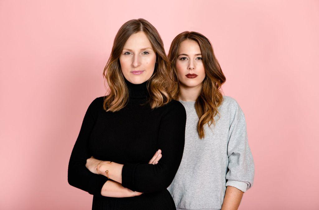 Das sind die beiden Gründerinnen von The Female Company: Ann-Sophie Claus (links) und Sinja Stadelmaier. Foto: The Female Company