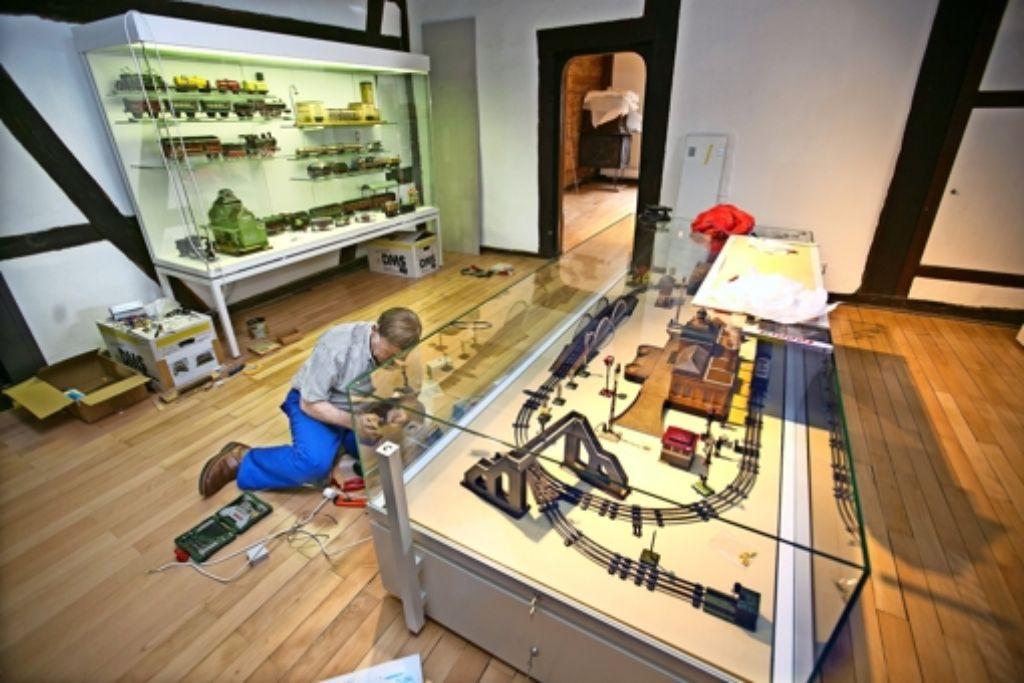 Die Vorbereitungen für die neue Dauerausstellung liegen in den letzten Zügen. Foto: Horst Rudel