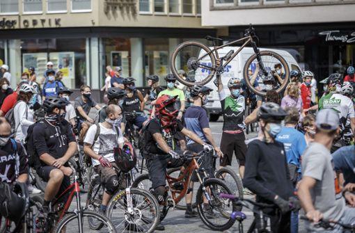 Mountainbiker wollen mit Klischees aufräumen