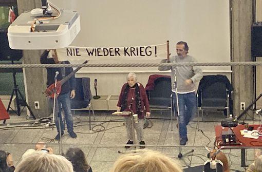 "Als Esther Bejarano in Stuttgart ""Bel Ami"" sang"
