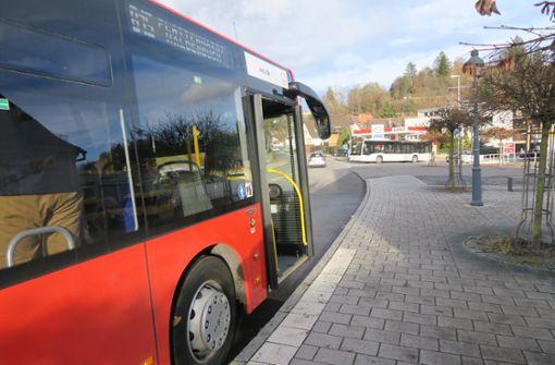 Unpünktliche  Busse bleiben ein Problem