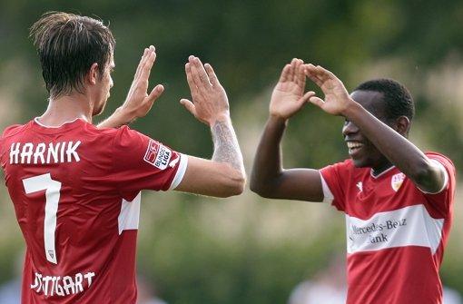 VfB Stuttgart gewinnt  gegen FSV Frankfurt