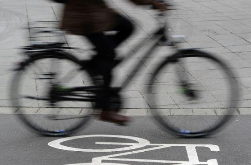 Betrunkene Radfahrer