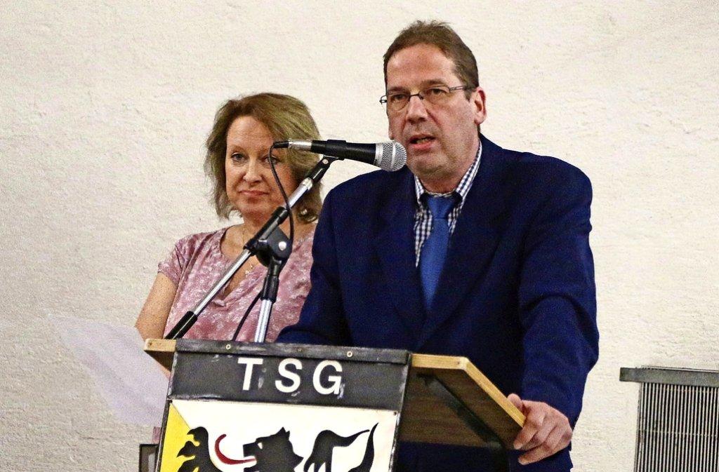 Michaela Feller und  Harald Hackert treiben den Vereinszusammenschluss voran. Foto: