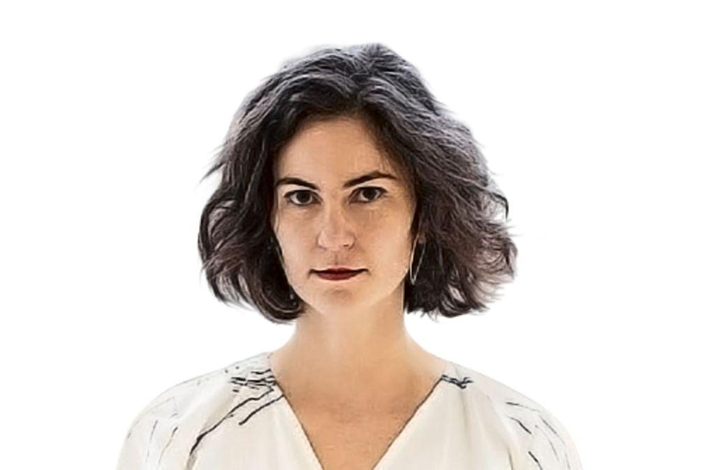 Die Designerin Sophia Schneider-Esleben entwirft und stellt in  Kassel nachhaltige Moder her.   Sie ist Mitglied im Verband deutscher Mode- und Textildesigner. Foto: