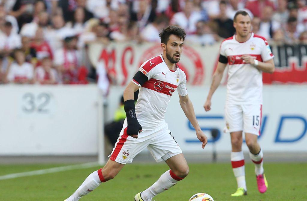Lukas Rupp spielte für den VfB Stuttgart. Foto: Pressefoto Baumann/Alexander Keppler
