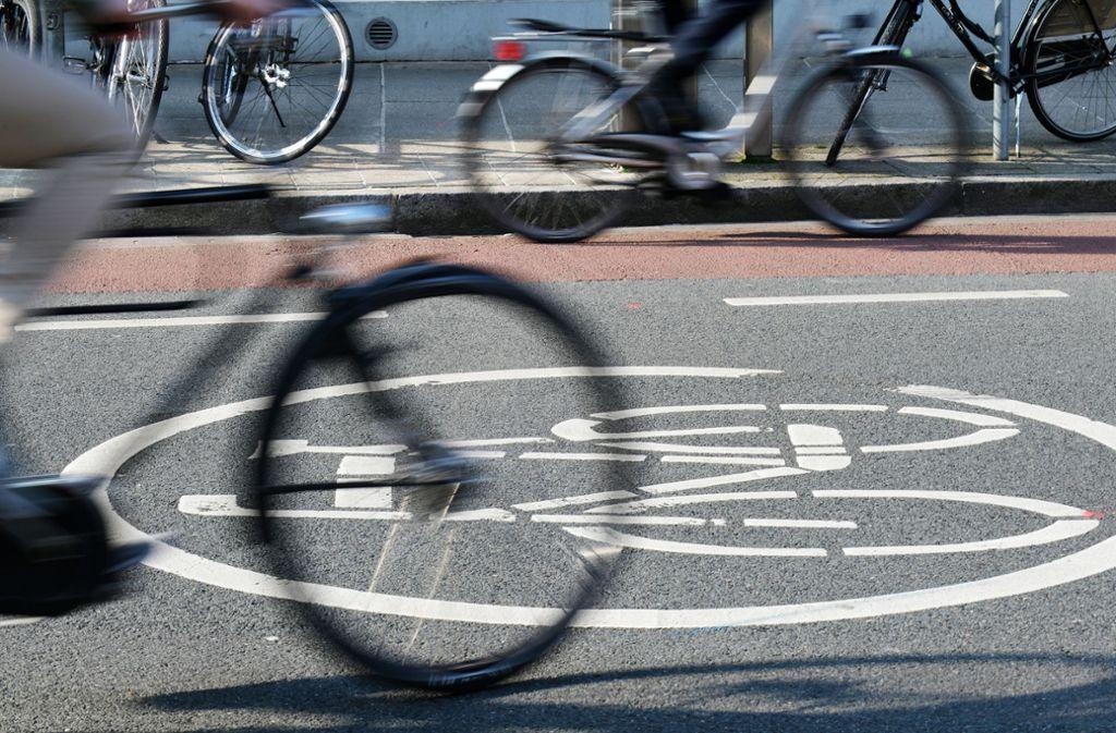 Der ADFC Backnang will, dass die Stadt deutlich mehr tut für die Radfahrer. Foto: dpa