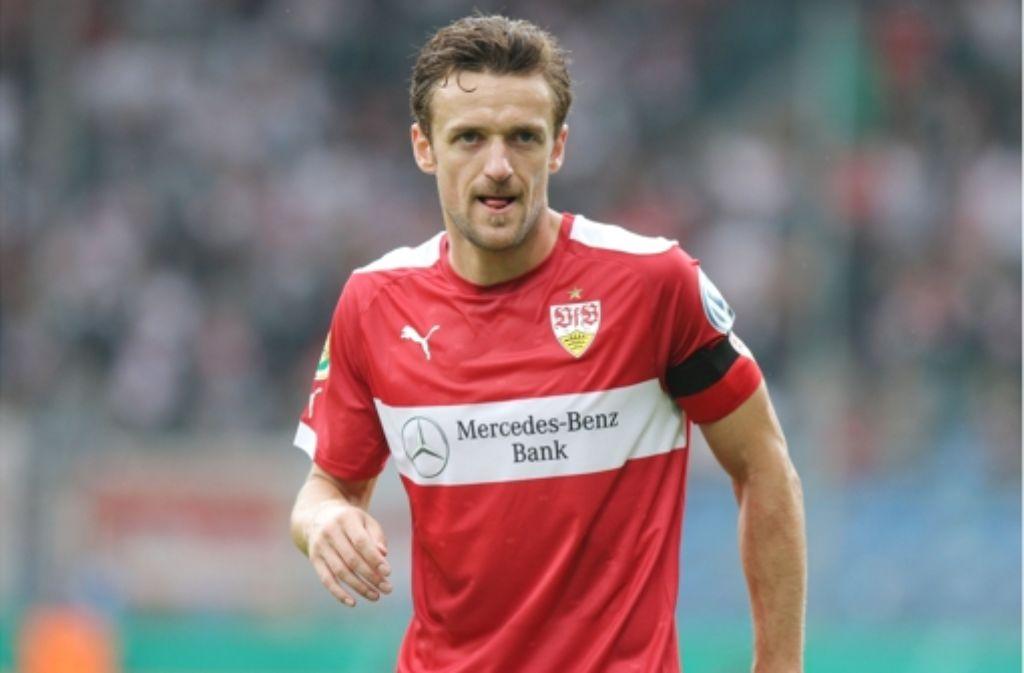 Selbstkritischer Kapitän: Christian Gentner macht sich so seine  Gedanken über den hohen Trainerverschleiß beim VfB Stuttgart. Foto: Pressefoto Baumann