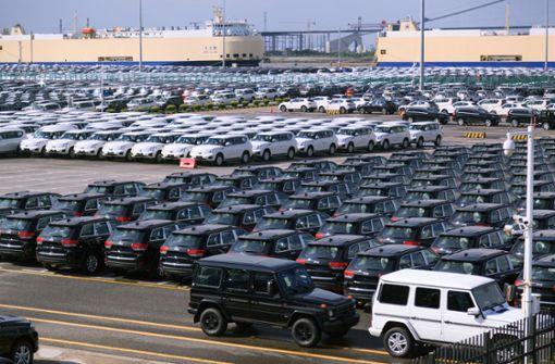 China setzt Sonderabgaben auf Autoimporte aus den USA aus
