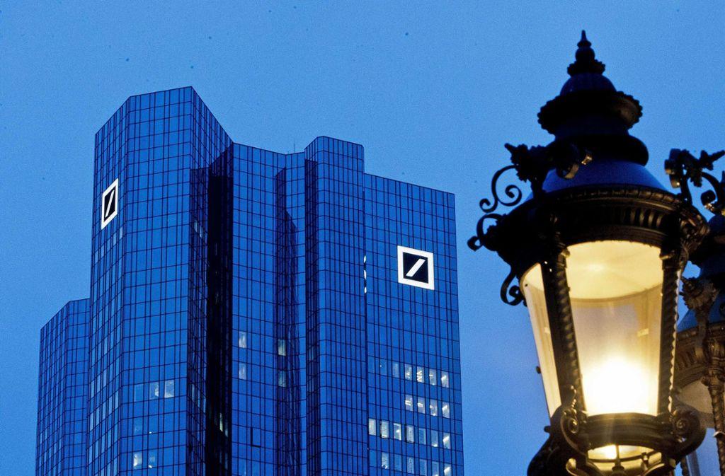Die Deutsche Bank muss in Sachen Basiskonto eine erste Niederlage vor Gericht einstecken. Foto: AP