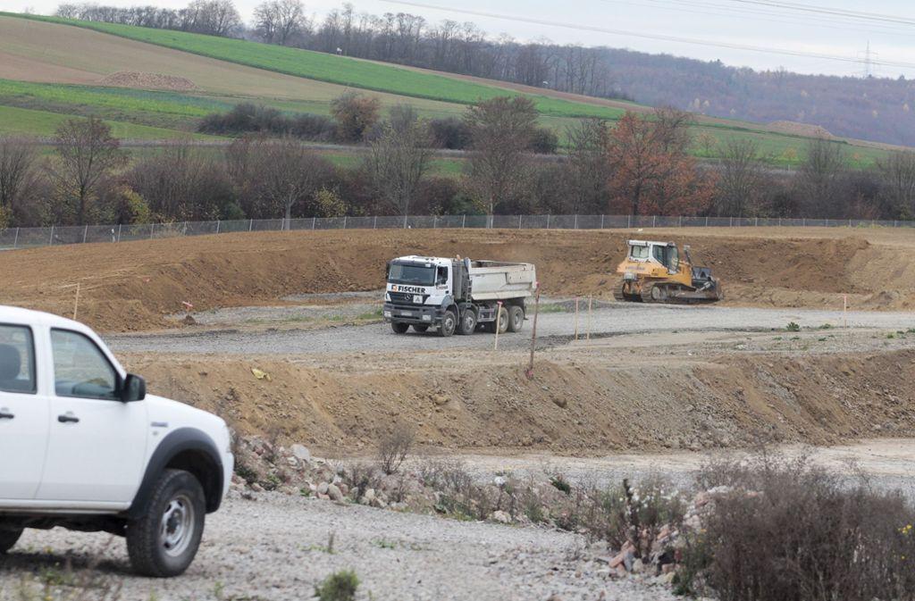 Auf der Deponie Froschgraben wird in absehbarer Zeit auch Schutt aus Neckarwestheim gelagert werden. Foto: factum/Granville