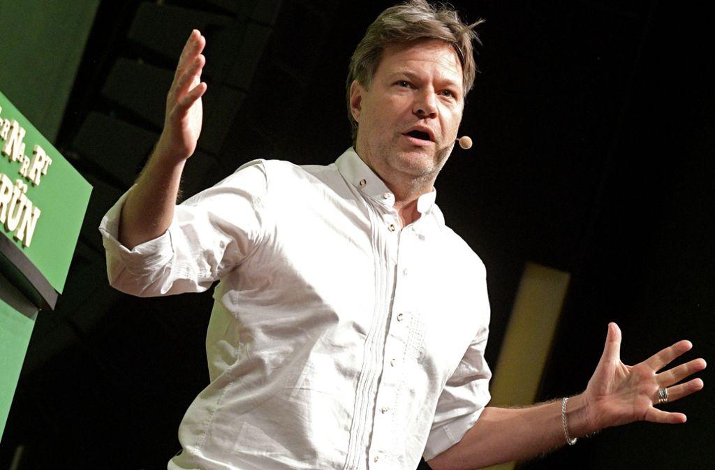 Robert Habeck hat die Grünen in die Erfolgsspur gebracht. Foto: dpa