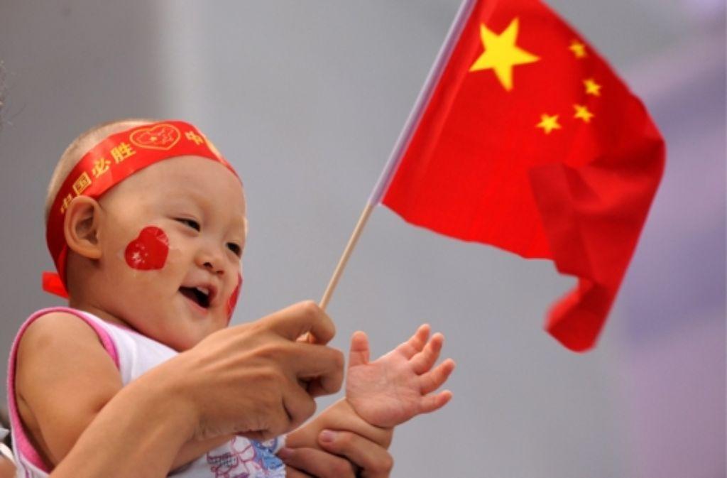 China hat am Donnerstag das Ende der Ein-Kind-Politik verkündet. Foto: dpa