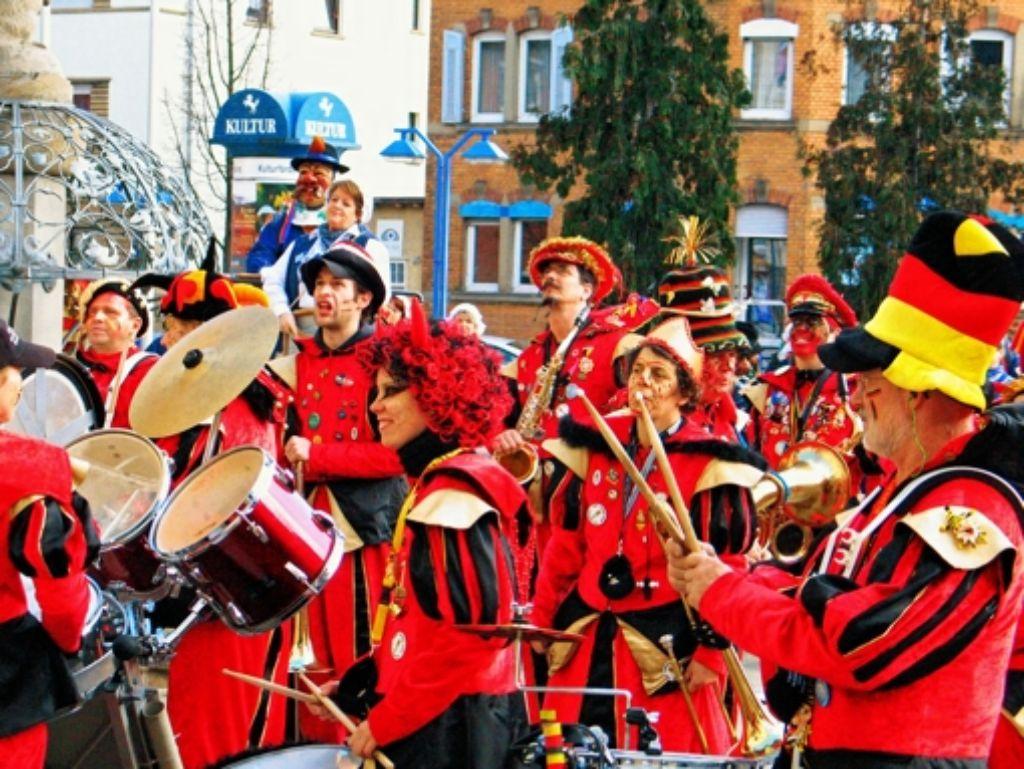 Bald sind die Feuerbacher Guggenmusiker wieder im Dauereinsatz. Foto: Georg Friedel