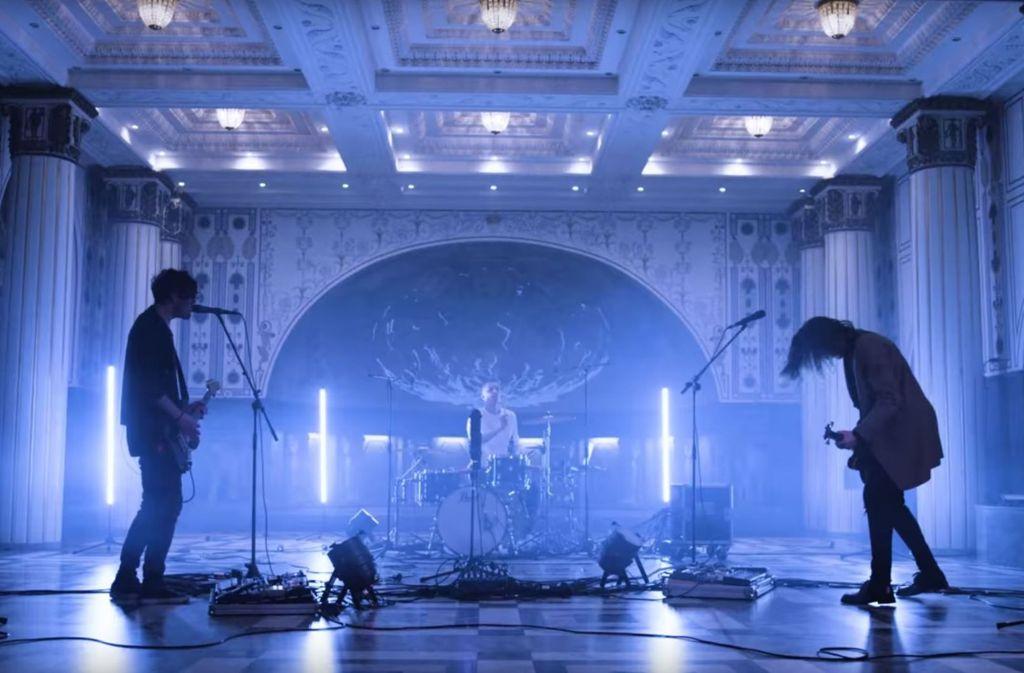Eau Rouge haben im Marmorsaal in Stuttgart Songs live eingespielt. Weitere aktuelle Stuttgarter Popvideos stellen wir in der Fotostrecke vor. Foto: Screenshot / Youtube