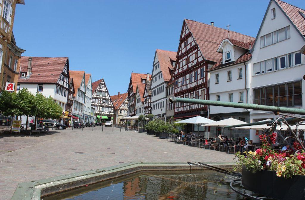 In Leonberg locken offene Geschäfte auch am Sonntag zum Bummeln und Shoppen. Foto: rak