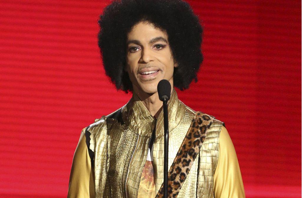 Prince hat vor seinem Tod an einem Buch geschrieben. Foto: dpa/Matt Sayles